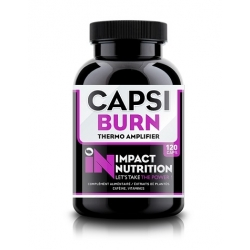 Capsi Burn (120Caps) Impact Nutrition