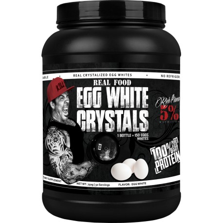 Real Food Egg White Crystals 5% NUTRITION